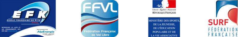 Logos des Fédérations